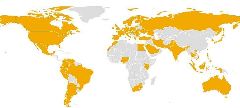 Quel pays dans le monde suscite le plus d