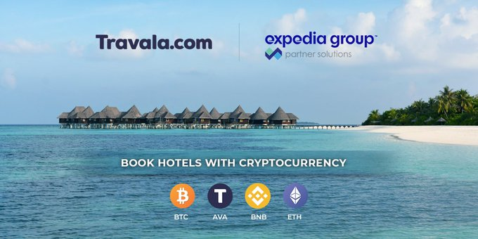 Expedia et Travala s