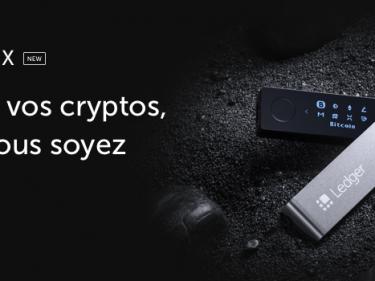 Promotion de 20% sur l'achat d'un Ledger Nano X jusqu'au 16 juillet 2020