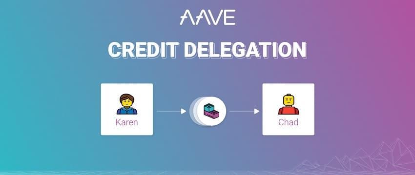 La plateforme de finance décentralisée DeFi Aave lance le prêt crypto sans dépôt de garantie