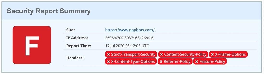 test sécurité napbots bot bitcoin