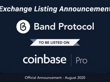Band Protocol arrive sur Coinbase Pro