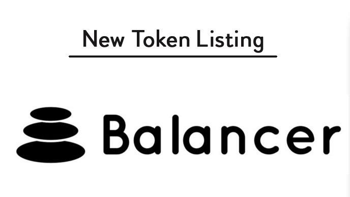 Binance liste un nouveau jeton DeFi Balancer (BAL)