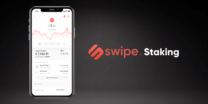 Le Staking Swipe (SXP) arrive sur Binance