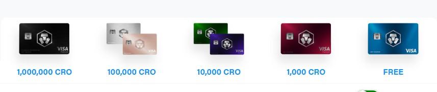 prix cartes bancaires bitcoin cro