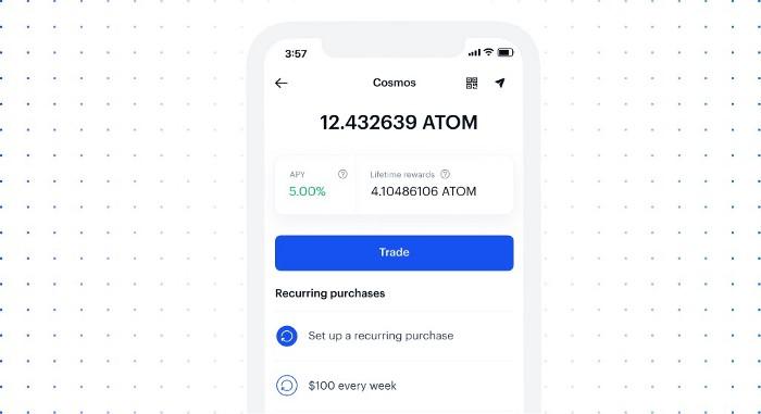 Coinbase propose 5% d