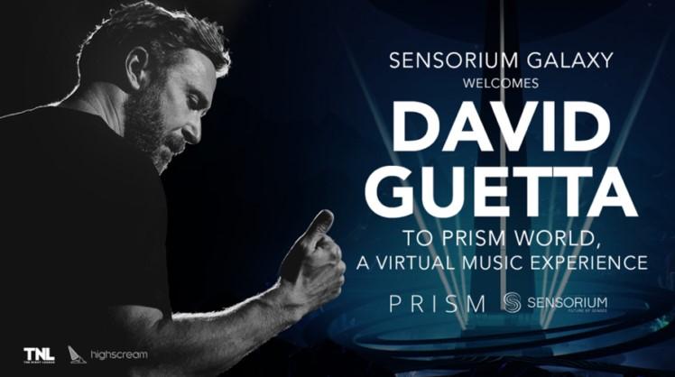 Le DJ français David Guetta rejoint la plateforme de réalité virtuelle sociale Sensorium Galaxy