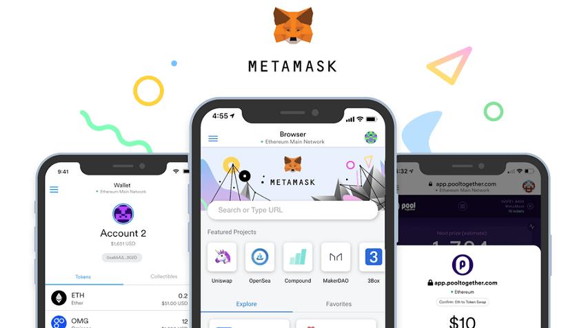 Metamask disponible sur Android et ios pour Apple Iphone
