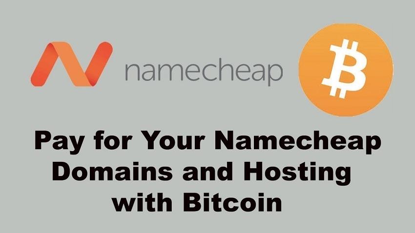 Namecheap intègre le paiement en Bitcoin pour payer son nom de domaine internet