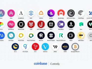 Coinbase Custody envisage d'ajouter la prise en charge de nouveaux crypto-actifs