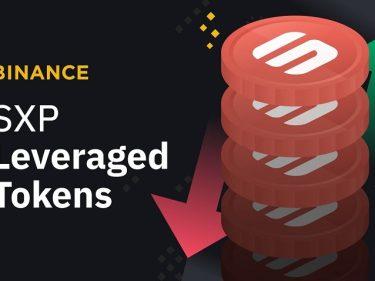 Des jetons à effet de levier sont disponibles sur Binance pour le token SXP
