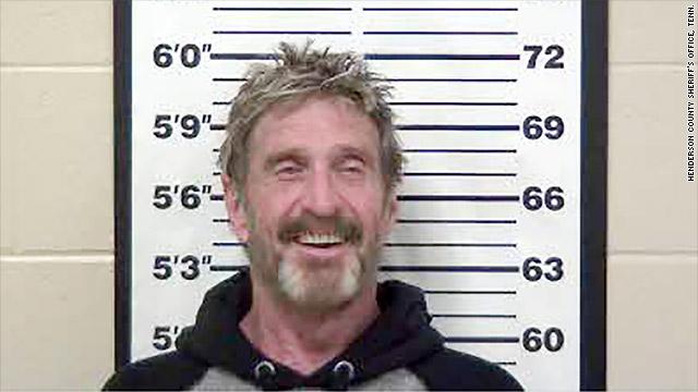 John McAfee a été arrêté en Espagne pour évasion fiscale et fraude crypto