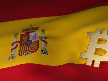 Les 350 députés espagnols ont reçu du Bitcoin BTC