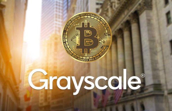 Grayscale achète du Bitcoin BTC pour plus de 188 millions de dollarss en un jour