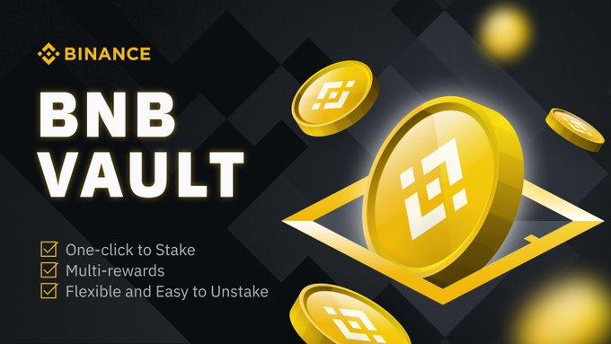 L'échange Bitcoin Binance lance BNB Vault