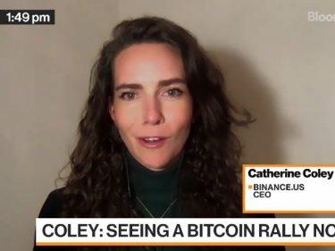 Pour la CEO de Binance US, la hausse du cours Bitcoin est stimulée par les acheteurs au comptant (spot buyers)