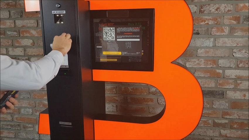 8 distributeurs automatiques de Bitcoin BTC saisis en France