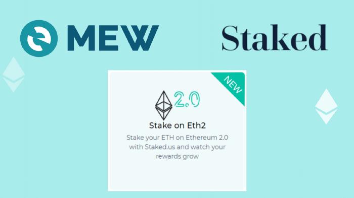 MyEtherWallet prend désormais en charge le staking Ethereum ETH 2.0