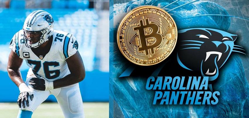 Un joueur de football américain de la NFL reçoit la moitié de son salaire en Bitcoin BTC