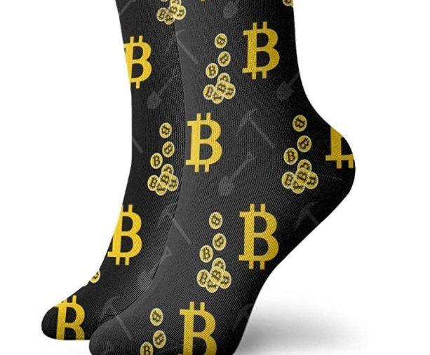 cadeau chaussettes bitcoin
