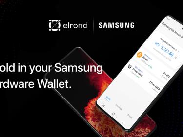 La cryptomonnaie eGold Elrond va pouvoir être stockée dans les smartphones équipés du Samsung Blockchain Wallet