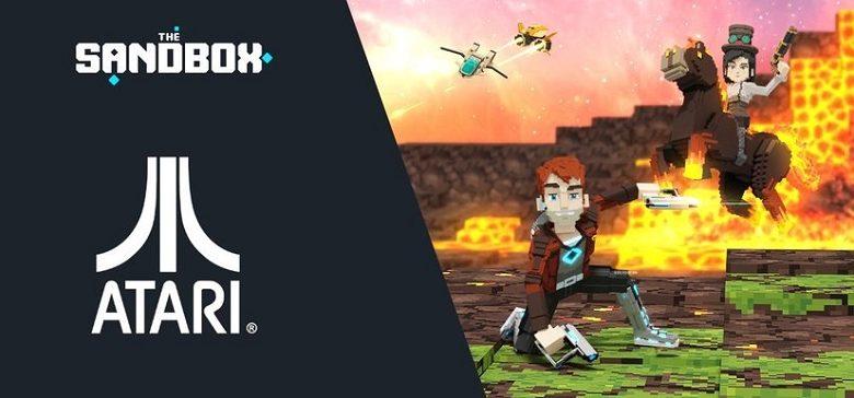 La marque mythique Atari annonce un partenariat avec le jeu vidéo blockchain The Sandbox