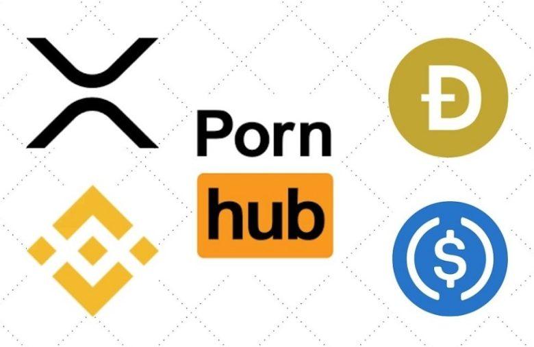 Porno et crypto, les altcoins Ripple XRP, Binance coin (BNB), Dogecoin (DOGE) et le stablecoin USDC sont désormais acceptés sur Pornhub