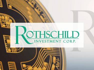 Rothschild Investment augmente son investissement en Bitcoin BTC chez Grayscale