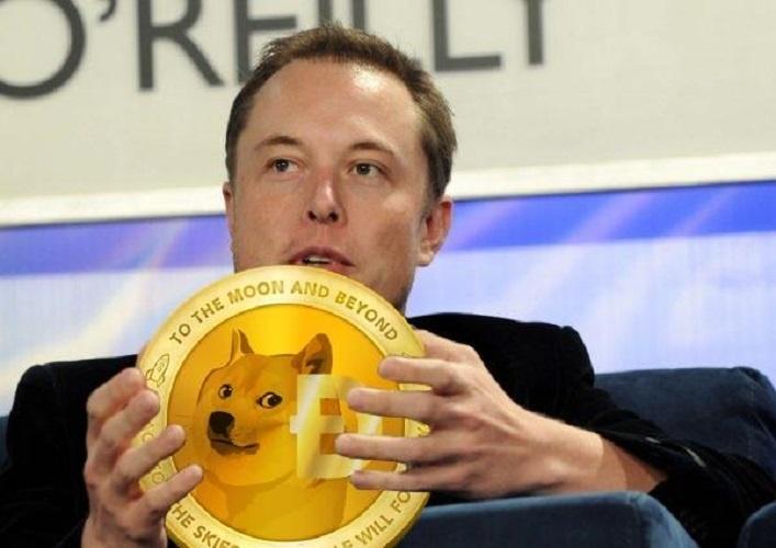 Elon Musk, PDG de Tesla, a acheté du Dogecoin pour son bébé