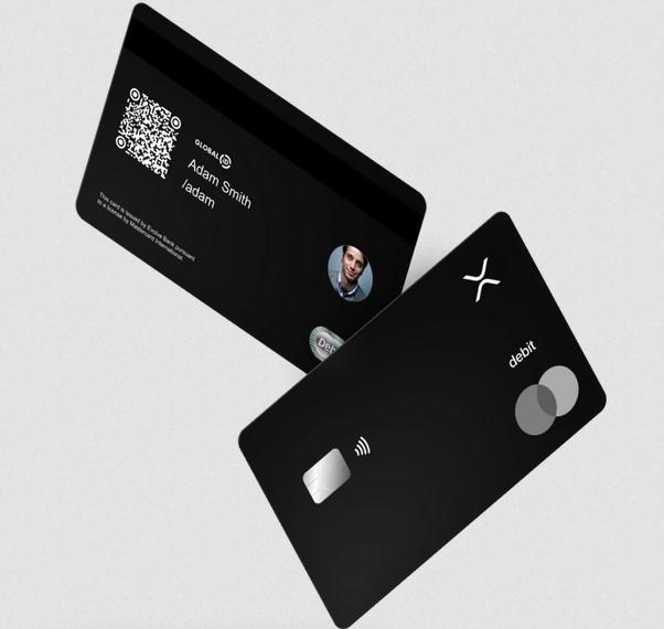 GlobaliD lance une carte bancaire Mastercard qui va reverser du cash back en Ripple XRP