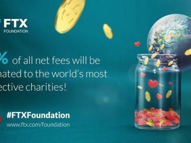 L'échange crypto FTX va reverser 1% des frais de trading à des associations caritatives