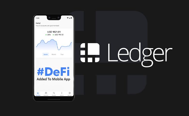 Les protocoles DeFi comme Uniswap sont désormais accessibles depuis Ledger Live Mobile
