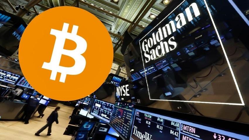 Goldman Sachs constate une demande pour du Bitcoin qui augmente
