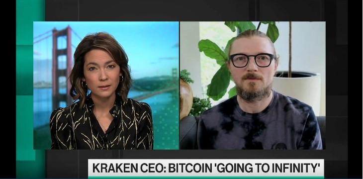 Le PDG de Kraken prédit un cours Bitcoin BTC d