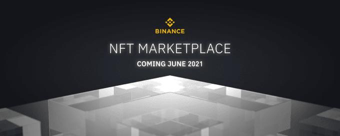 Binance annonce l'arrivée de sa plateforme de trading NFT