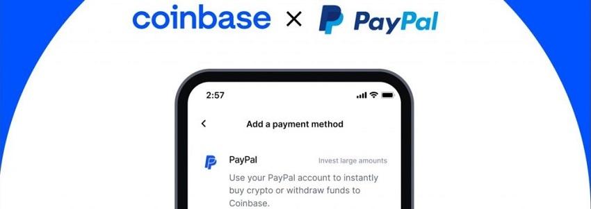 Coinbase permet désormais d'acheter du Bitcoin avec PayPal