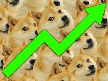 Le cours DOGE (Dogecoin) atteint 0,30$ et passe devant LINK, UniSwap et Litecoin au classement Coinmarketcap !