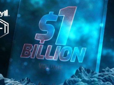 Pour célébrer le milliard de dollars tradé sur sa plateforme de bots crypto, Kryll met en jeu 2 NFT d'une valeur de 100000 dollars chacun
