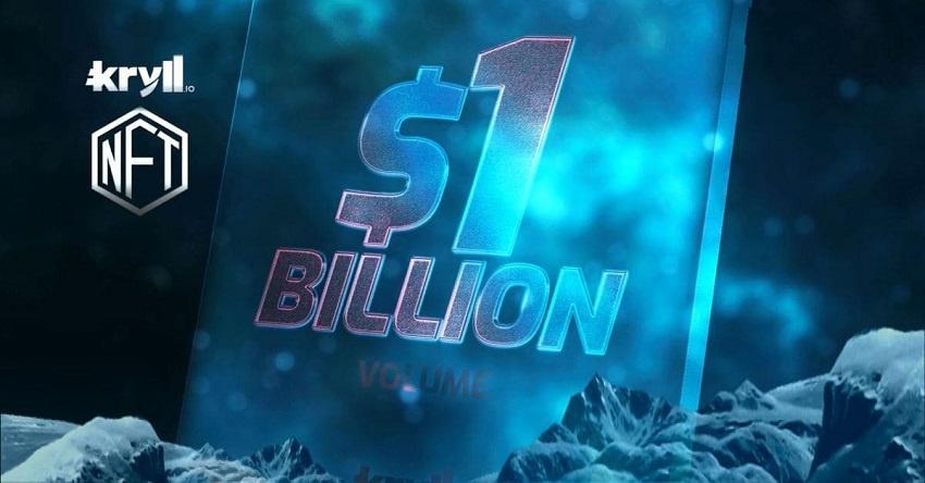 Pour célébrer le milliard de dollars tradé sur sa plateforme de bots crypto, Kryll met en jeu 2 NFT d
