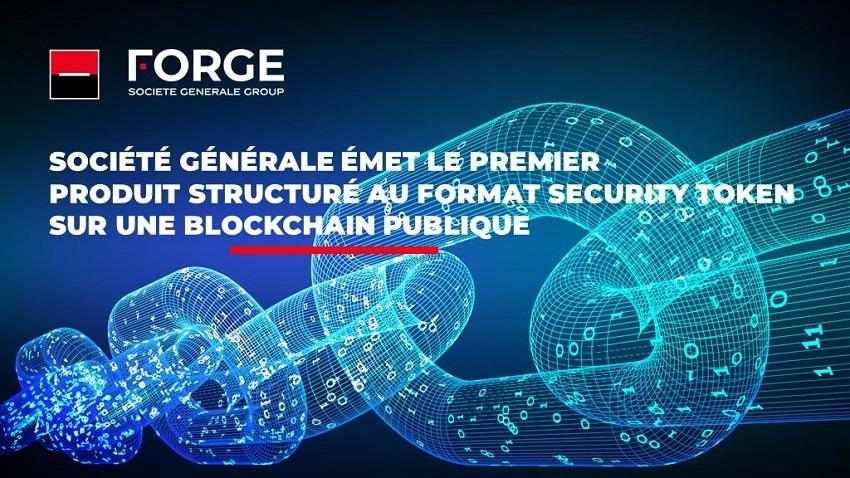 Société Générale émet des titres (security token) sur la Blockchain Tezos (XTZ)