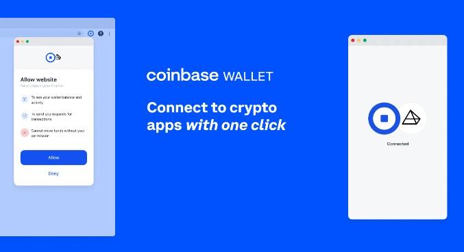 Coinbase lance une extension navigateur pour le Coinbase Wallet qui permet aux utilisateurs d