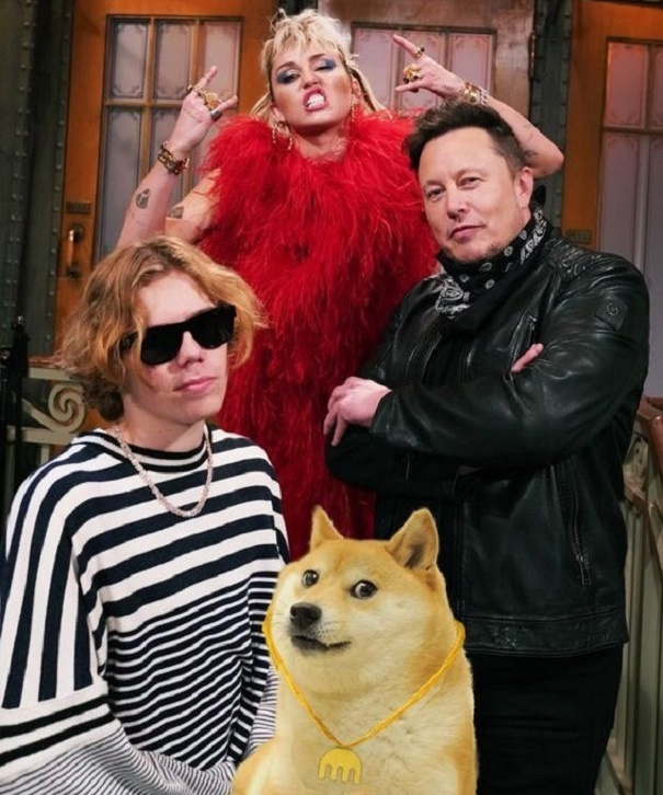 Elon Musk dans Saturday Night Live, le cours Dogecoin (DOGE) chute