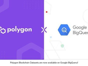 Google Cloud fournit désormais des informations sur la blockchain Polygon (MATIC)