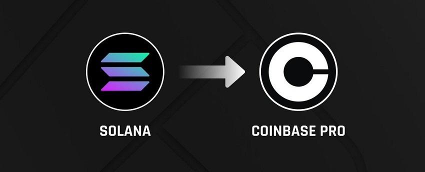 La cryptomonnaie Solana (SOL) listée sur Coinbase Pro