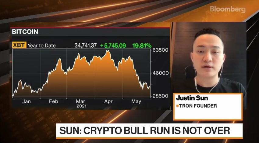 Selon Justin Sun de Tron, le bull market de Bitcoin reprendra cet été
