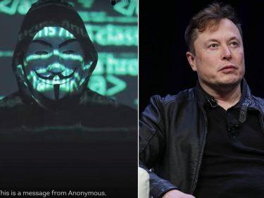 Elon Musk, nouvelle cible du groupe de hackers Anonymous