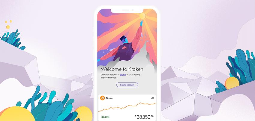 L'échange crypto Kraken lance une nouvelle application mobile