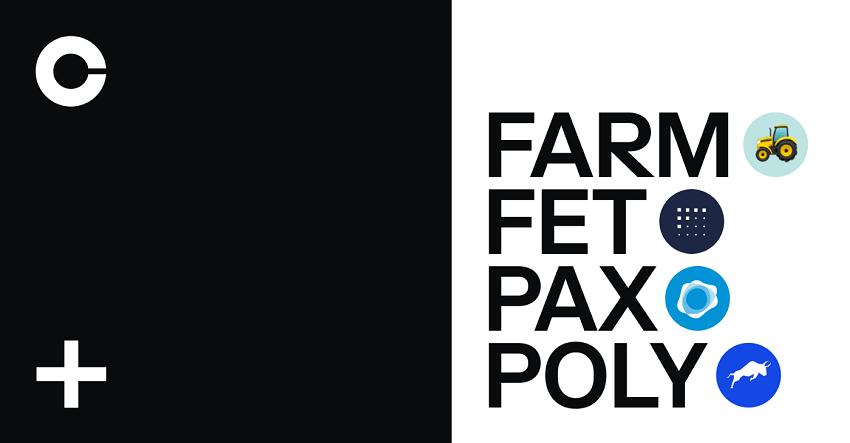 Coinbase Pro liste Harvest Finance (FARM), Fetch.ai (FET), Paxos Standard (PAX) et Polymath Network (POLY)