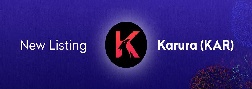 La cryptomonnaie Karura (KAR) listée sur Kraken