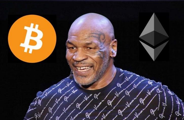 L'ancien champion de boxe Mike Tyson hésite entre Bitcoin et Ethereum